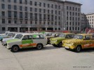 Trabant driving Budapest